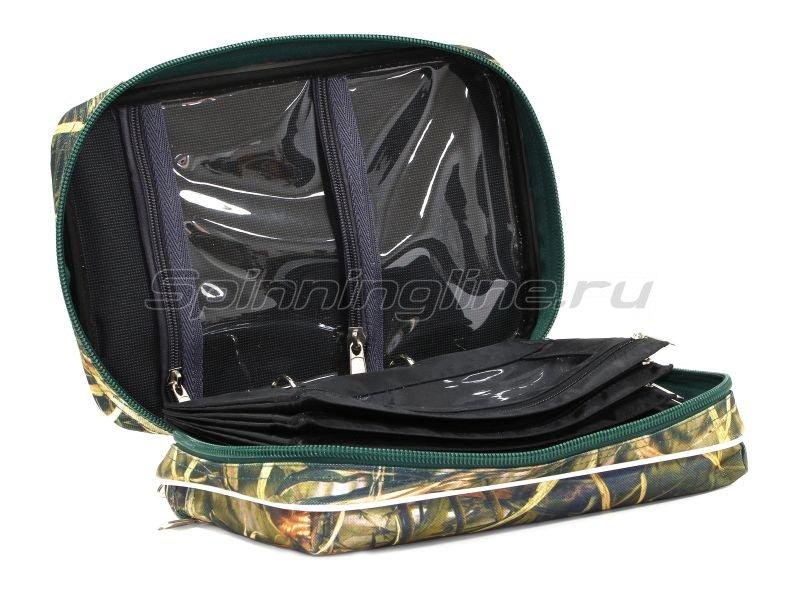 Сумка для приманок Markfish Jig Binder 3650 camo - фотография 4