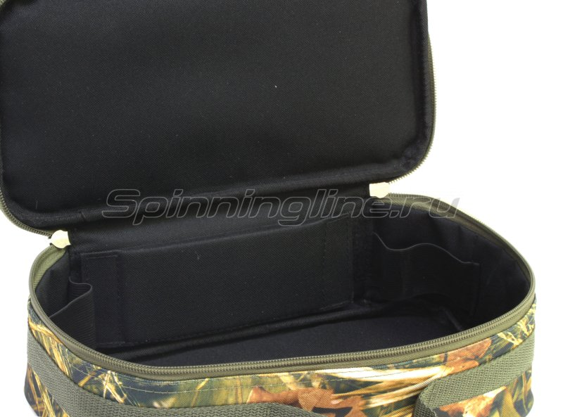 Чехол Markfish для 2 спиннинговых катушек с карманом camo -  6