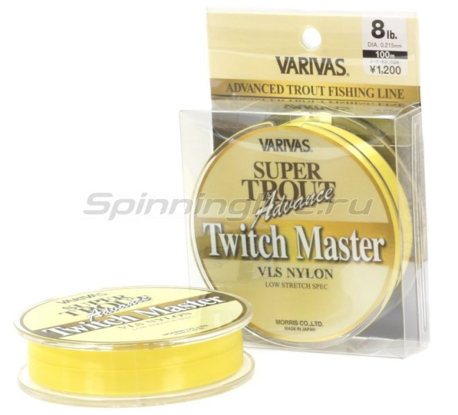 Леска Super Trout Advance Twitch Master Nylon 91м 0,104мм -  1