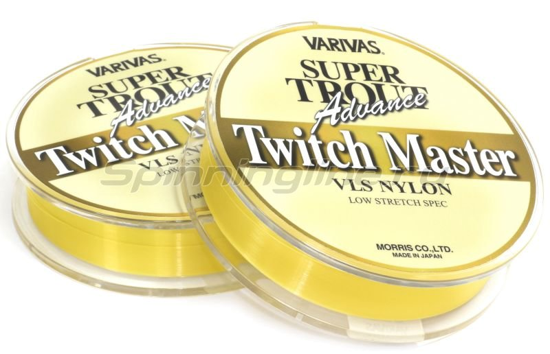 Леска Super Trout Advance Twitch Master Nylon 91м 0,104мм -  2