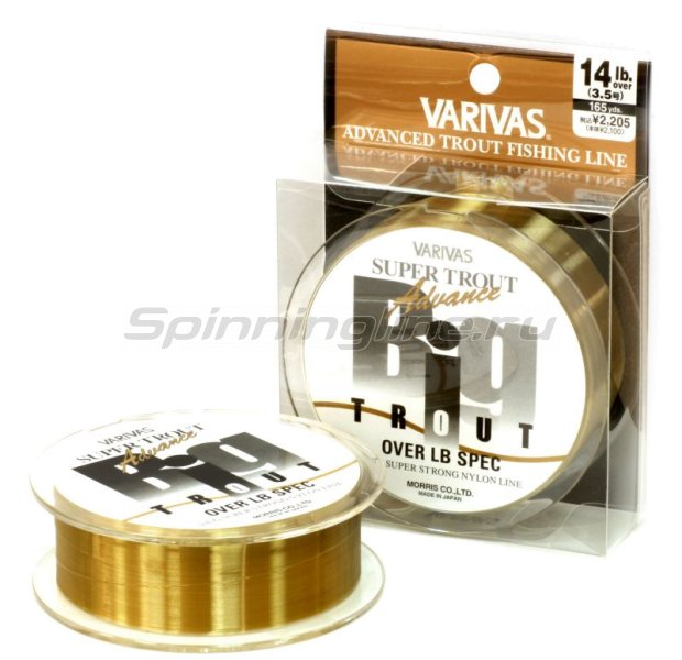 Varivas - Леска Super Trout Advance Big Trout 150м 3 - фотография 1