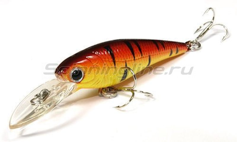 Lucky Craft - Воблер Bevy Shad 50SP 0289 Fire Tiger 197 - фотография 1