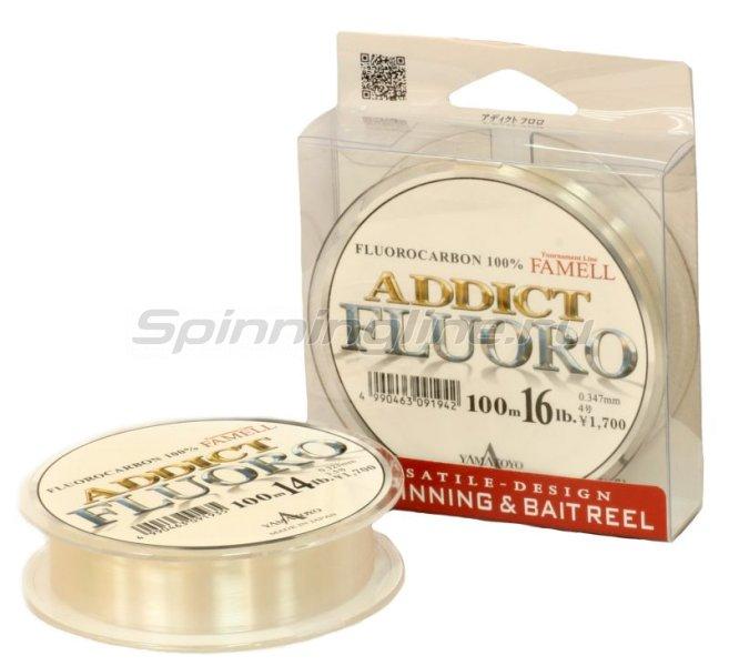 Yamatoyo - Флюорокарбон Addict Fluoro 100м 0,19мм - фотография 1