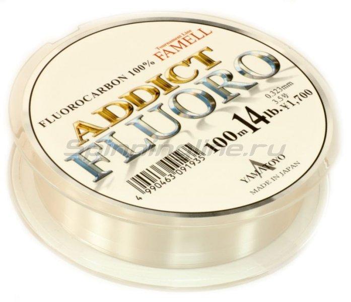 Yamatoyo - Флюорокарбон Addict Fluoro 100м 0,19мм - фотография 2