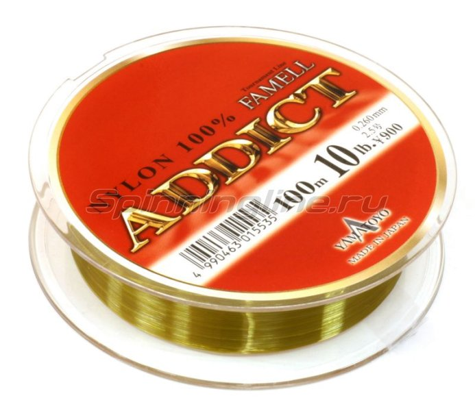 Леска Addict 100м 0,165мм -  2