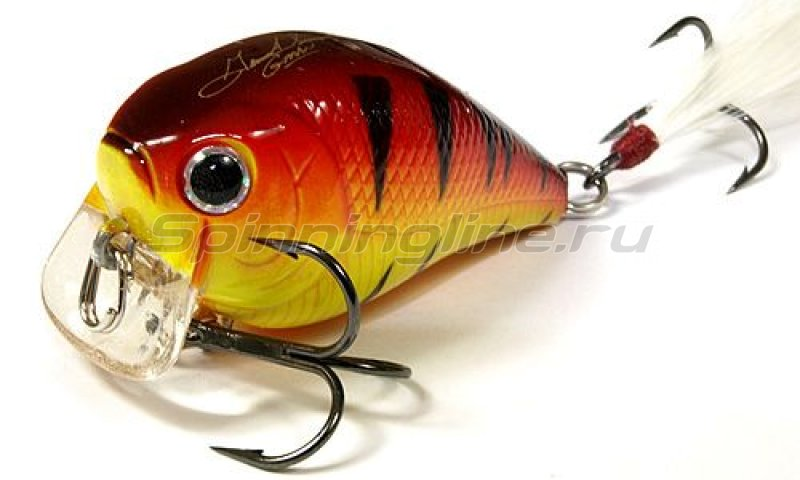 Lucky Craft - Воблер FAT CB GDS Mini SSR Fire Tiger 082 - фотография 1