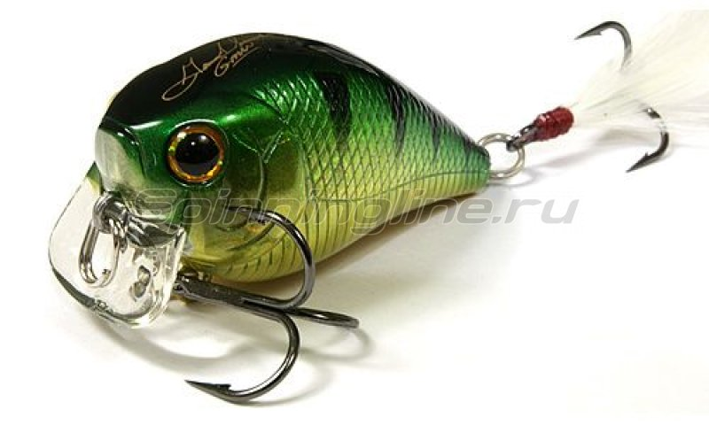 Lucky Craft - Воблер FAT CB GDS Mini SSR Aurora Green Perch 280 - фотография 1