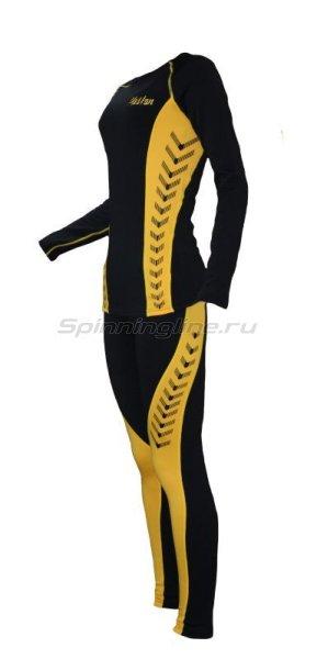 Термобелье Alaskan Lady Guide S черно-желтый - фотография 2