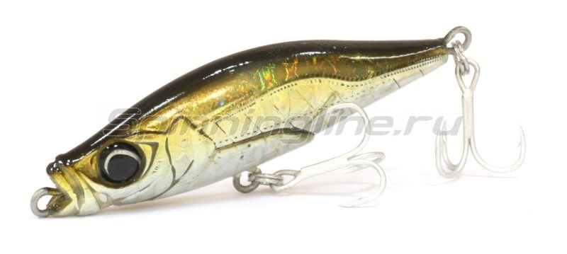 Little Jack - Воблер Zussi Ri WR Lipless Minnow 03 Dark Green Aji - фотография 1