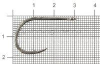 Крючок Kashima Kantsuki Iseama №17