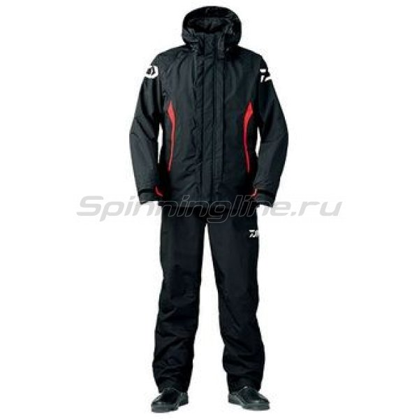 Костюм Daiwa Rainmax Combi-Up Rain Suit Black L - фотография 1