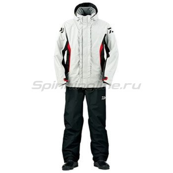 Костюм Daiwa Rainmax Combi-Up Rain Suit Gray XXL - фотография 1