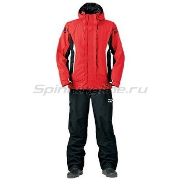 Костюм Daiwa Rainmax Combi-Up Rain Suit Red L - фотография 1