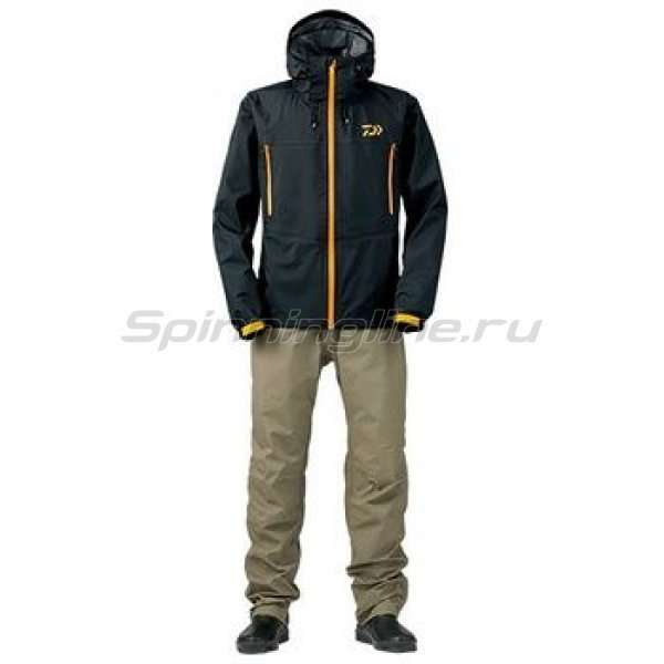 Костюм Daiwa Rainmax Hyper Rain Suit Black XL - фотография 1