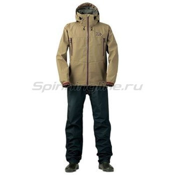 Костюм Daiwa Rainmax Hyper Rain Suit Cofe Mokko XL -  1