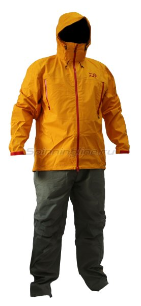 Костюм Daiwa Rainmax Hyper Rain Suit Orange XXL - фотография 1