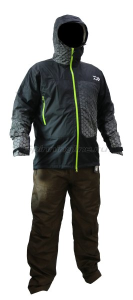 Костюм Daiwa Rainmax Rain Suit Black L - фотография 1