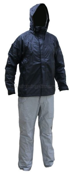 Костюм Daiwa Rainmax Rain Suit Black L -  1