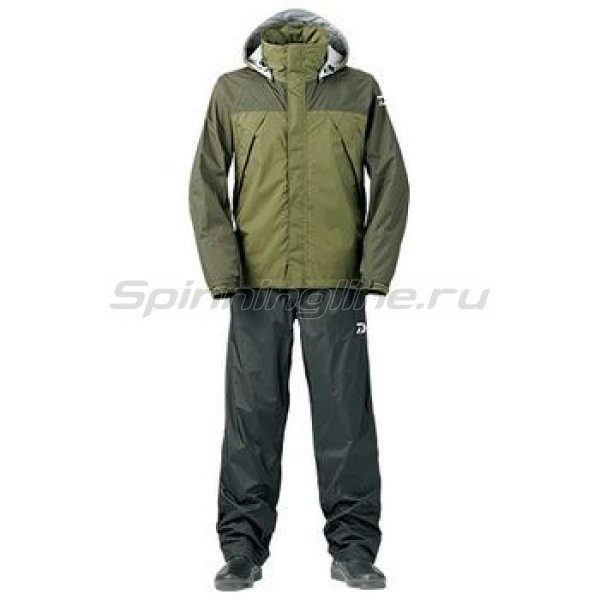 Костюм Daiwa Rainmax Rain Suit Olive XXXL -  1