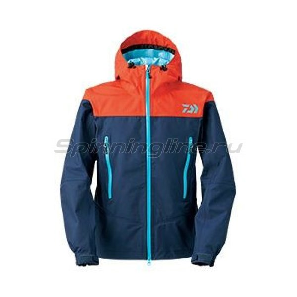 Куртка Daiwa Rainmax Rain Jacket Navy XXXL - фотография 1