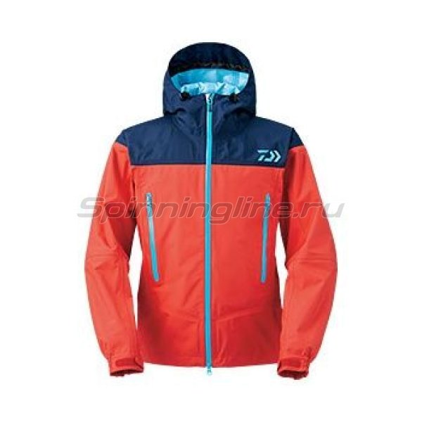 Куртка Daiwa Rainmax Rain Jacket Red XL - фотография 1