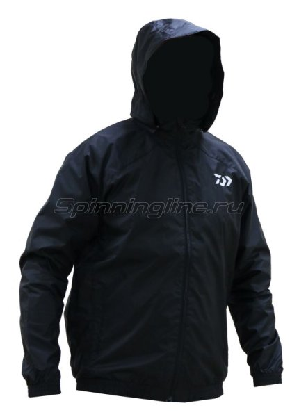 Куртка Daiwa Wind Jacket Black L - фотография 1
