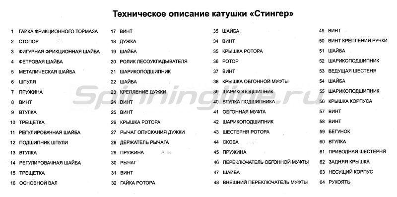 Катушка Enforcer 2000 -  6