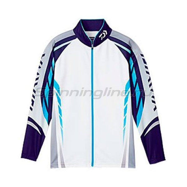 Daiwa - ��������� Wicksenor Zip-Up Shirts Long Sleeve Blue XXXL - ���������� 1