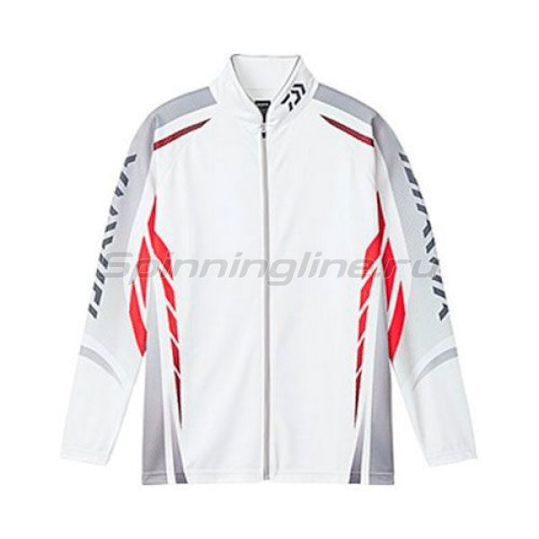 Daiwa - Толстовка Wicksenor Zip-Up Shirts Long Sleeve White L - фотография 1