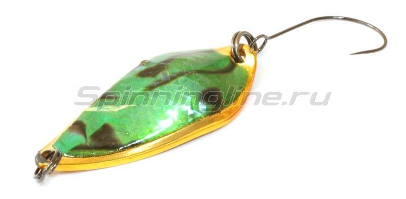 Блесна Presso Rave 2.5 abalone green gold -  1