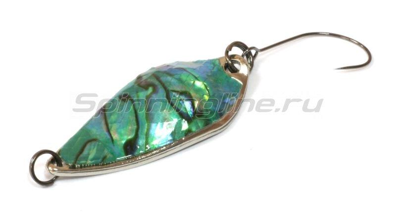 Daiwa - Блесна Presso Rave 2.5 abalone green silver - фотография 1