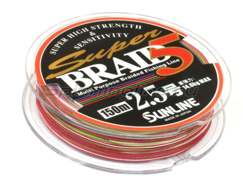 Шнур Super Braid 5HG 150м 2.5 -  2