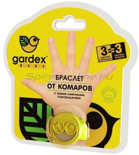 Браслет Gardex Baby от комаров со сменным картриджем -  1