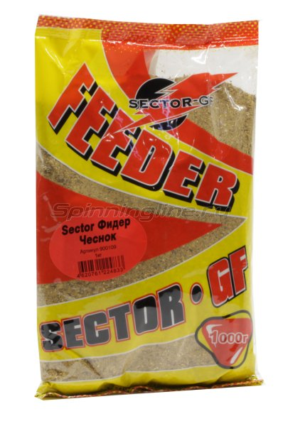 Прикормка Sector-GF Фидер Чеснок 1кг. -  1