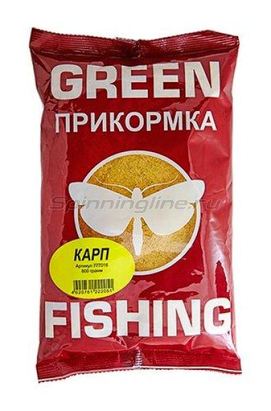 Прикормка Greenfishing Карп 800 гр. - фотография 1