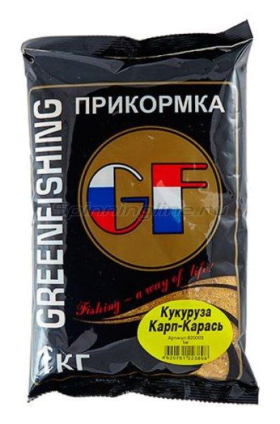 Greenfishing - Прикормка GF Карп/Карась Кукуруза 1кг. - фотография 1