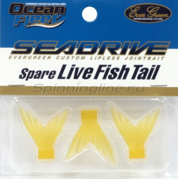 Ever Green - Воблер Sea Drive Spare Live Fish Tial clear yellow - фотография 1