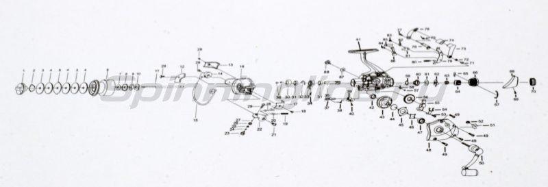 Катушка Defender A6 4000 -  6