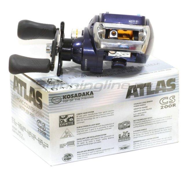 Kosadaka - Катушка Atlas CS 200 R - фотография 5