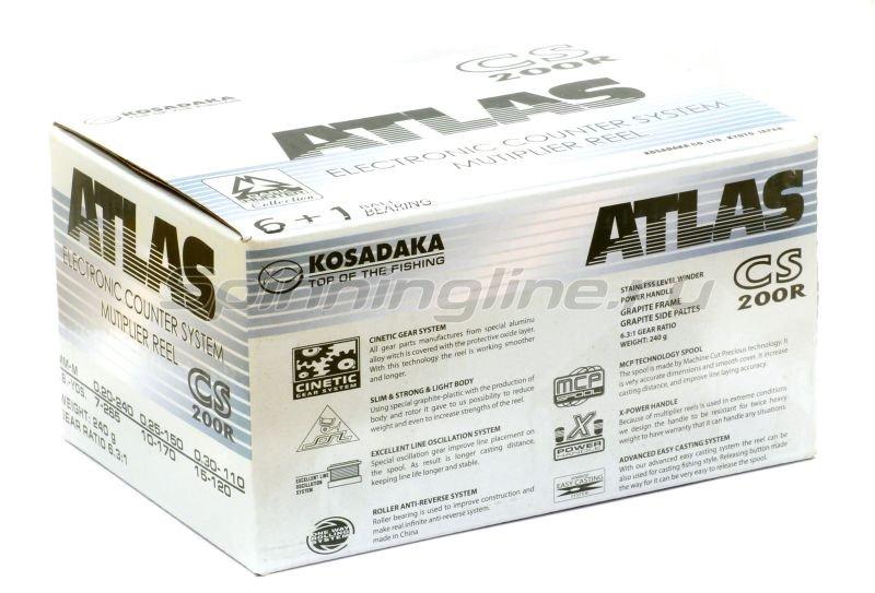 Kosadaka - Катушка Atlas CS 200 R - фотография 6