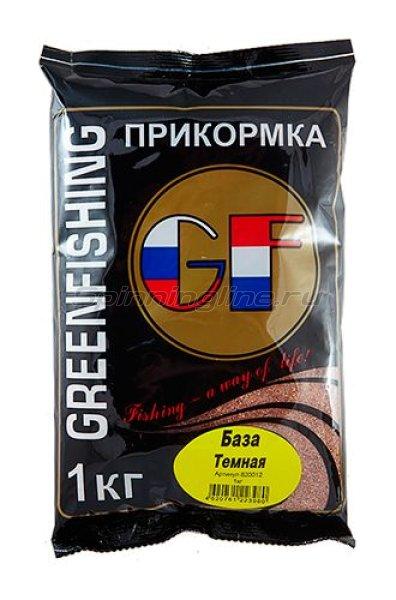 Greenfishing - Прикормка GF База темная 1кг. - фотография 1