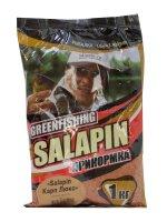 Прикормка Greenfishing Salapin Карп Люкс 1 кг.