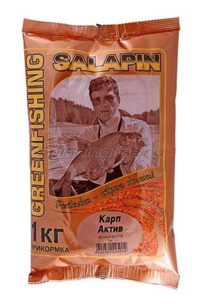 Прикормка Salapin Карп Актив 1 кг. -  1