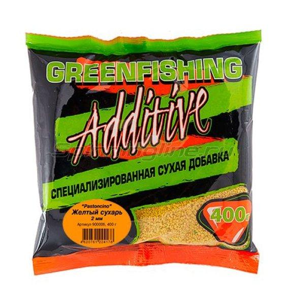 Greenfishing - Желтый сухарь Pastoncino 2мм 400гр - фотография 1