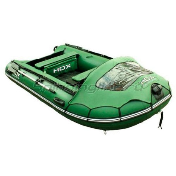 Лодка ПВХ HDX Helium 330 AM зеленая - фотография 1