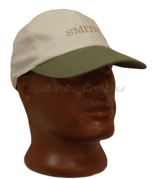 Кепка Smith бело-зеленая -  1