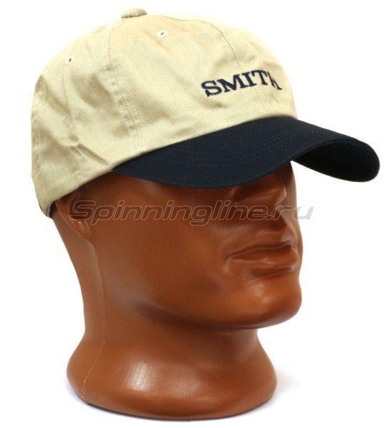 Кепка Smith серо-синяя - фотография 1