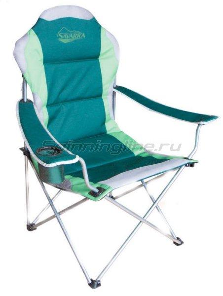 Кресло Savarra зеленый 03 - фотография 1