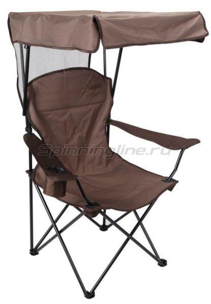 Кресло Savarra коричневый с козырьком - фотография 1