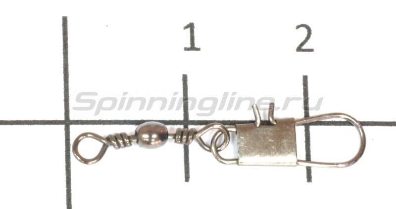 Вертлюг с карабином Cottus Interlock №14 -  1